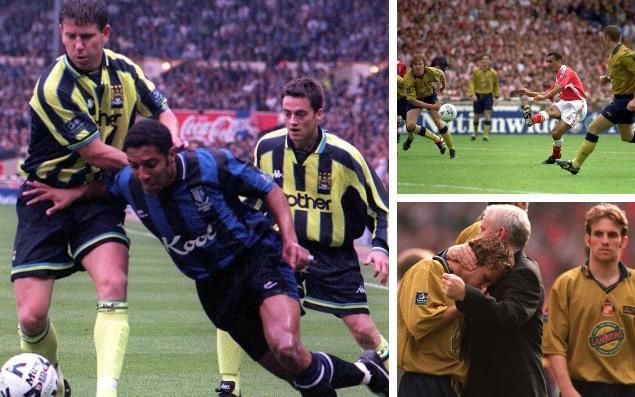 Ahead of the Championship play-off final between Fulham and Aston Villa this Saturday, Ivan Speck speaks to those caught up in play-off drama of years gone. 'I said to the linesman - if I save this, do we win?' May 30, 1999: League Two play-off final Manchester City 2 (Horlock 90, Dickov 90+5) Gillingham 2 (Asaba 81, Taylor 87) After extra time, City won 3-1 on penalties Blue Moon rising. Carl Asaba and Bob Taylor gave Gillingham a late 2-0 lead. With City fans streaming out of Wembley, Kevin Horlock reduced the deficit before, controversially, referee Mark Halsey added on five minutes. In the last of those, Paul Dickov equalised. In the penalty shoot-out, 20-year-old City goalkeeper Nicky Weaver saved two Gillingham spot-kicks. Nicky Weaver, Manchester City goalkeeper I wasn't that nervous beforehand. I think I played 55 games that year. I'd just turned 20 and the nerves don't really kick in at that age. That said, early in the second half, I came out of my area and kicked the ball straight to one of their midfield players, who missed an open goal. If that had gone in, I could have been the villain, not the hero. I remember thinking it was only a few nights before that Manchester United had scored two in the dying minutes in Barcelona against Bayern Munich to win the Champions League. It wasn't impossible, but something had to happen quickly. When we equalised, I came running down the pitch and did a big slide, Klinsmann-style. Everyone was just going wild. We'd come back from absolutely nowhere. I can't imagine how the Gillingham players felt. Carl Asaba tries to break away from Manchester City's Lee Crooks in the 1999 play-off final Credit: PA We'd practised penalties every day after training, but I wasn't that great at saving them that week. The biggest thing was that they were taken at the City end. When it came to the decisive kick, I remember saying to the linesman: 'If I save this one, is that it?' I made myself as big as I could, dived to my left, got two big hands on the ball, pulled a stupid face and went off on a mad run around Wembley. I just didn't want the feeling inside me to end. I should have gone straight over to their keeper, but I was young and it didn't enter my mind. It was life-changing for me. I had so much nervous excitement within me that I went on holiday and just sat on a sunbed for two weeks to come back to reality. That game was the first step in City getting back to where they needed to be. I dread to think what would have happened if we hadn't gone up. To see where City are now, it's unthinkable. Andy Hessenthaler, Gillingham captain We were massive underdogs. We had finished pretty much neck and neck in the table but on status, City were always going to be favourites. We rode our luck early on. They should have had a penalty in the first minute, but we got stronger and they were getting frustrated. When we scored, we were dreaming. You'd be a liar if you were on that pitch and you didn't think you had won that match at 2-0. I certainly did. When five minutes went up on the board, my first thought was: 'Where have the officials got that from?' I just couldn't work it out. I still can't. Extra-time was a non-event because everyone was so shattered. Deep down I wasn't that confident about penalties because of what had happened. It didn't surprise me that we lost. There were lots of tears. It took me a while to pull myself together, I was that emotional. When you're watching their captain lift the trophy, you think it should be you. Unfortunately, it wasn't. Fortunately, we went back to Wembley the year after and beat Wigan this time. 'I missed the penalty, and our fans started singing my name' May 25, 1998: Championship play-off final Charlton Athletic 4 (Mendonca 23, 71, 103, Rufus 85) Sunderland 4 (Quinn 50, 73, Phillips 58, Summerbee 99) After extra-time, Charlton won 7-6 on penalties The most open play-off final ever. Sunderland fan Clive Mendonca scored a hat-trick with Richard Rufus heading in Charlton's other goal. Sunderland replied through their attacking duo of Niall Quinn and Kevin Phillips, as well as Nicky Summerbee. Sunderland-born Michael Gray missed the decisive penalty in the shoot-out. Alan Curbishley, Charlton manager Going into the final, we had to win it. We had big plans for The Valley, but there were bids on the table from Premier League clubs for three or four of our players. If we didn't make it, we would have had to sell them. The team would have been broken up. We measured out a training pitch the same size as Wembley to help us, but the heat made it such an open game. I expected goals, but no-one in their wildest dreams expected it to be 4-4. It's an iconic final. Clive Mendonca was our striker, and he was Sunderland born and bred. I knew we had signed a centre forward who could get us promotion or near promotion. He was a deadly finisher but come the day of the final, he was as nervous as anybody, playing against his boyhood team and trying to get us into the Premier League. But you won't see a better hat-trick at Wembley for its coolness. None of the goals were ever in doubt. Clive Mendonca scores the opening goal at Wembley Credit: Action Images I felt confident about the penalty shoot-out. Our goalkeeper Sasa Ilic had turned up at the training ground with his kit eight months before and asked if he could have a trial. After the first couple of training sessions, I told him: 'We're going to give you some travel expenses.' I paid it out of my own pocket because I didn't want him to wait a month for them. I watched every penalty up until Mickey Gray's last one for Sunderland. My assistant Keith Peacock said: 'Don't watch this one. It's a left-footer and he's going to miss it.' I put my head in my hands. When I didn't hear the roar from their fans, I knew we had won. Peter Reid was the first person to come in our dressing room. He congratulated every one of our players on winning promotion. I'm not too sure I could have done that. The Sunderland coach had inadvertently blocked ours in after the game, so the only way we could get to our reception near Wembley was by walking with the trophy along Wembley Way. The Sunderland fans clapped us and wanted their photo taken with the trophy and the players. So when Sunderland went up the next year, we sent them a case of champagne. Michael Gray, Sunderland defender The heat felt like 120-degrees pitch-side and we had been designated to wear our away shirt, which was double-layered. It felt like you were wearing an overcoat. Every time we scored a goal, we thought that was it, they're not going to get back into it, but they kept coming and coming. There were some great goals and Clive Mendonca was incredible. We'd practised penalties at the Stadium of Light. I'd taken maybe 20 and stuck every one of them away, but I remember Peter Reid saying: 'Let's wait until there are 80,000 there and see if you fancy taking one then.' He was right. It went to sudden death. I was only 23, but I looked at our two centre-halves Darren Williams and Jody Craddock who were younger than me and then at our centre forward Danny Dichio. His boots were off and he was sat on the floor. That walk to the penalty spot is the loneliest walk you'll ever make in your life. Even though there are 80,000 people there, you can actually hear yourself put the ball down on the grass. I picked my spot but as I ran up I saw Sasa Ilic shuffling across to his left, which was where I was going. I knew he was going to save it even when it was rolling there. Sasa Ilic celebrates winning the penalty shoot-out at Wembley Credit: Getty Images The kit man came over, then Quinny, Kevin Ball and Lee Clark. Then Peter came across and gave me a big hug. It felt like forever, but it was only five or six minutes. It was a lonely place. And then all I could hear was the Sunderland supporters starting to sing my name. I've never forgotten that. Never. That emotion, the feeling of missing that penalty stayed with me for as long as I wore a Sunderland shirt, which was 12-and-a-half years. Peter Reid was first class with me. I got back home after Wembley. He rang up and said: 'Pack a bag, you're coming to stay with me for three days.' It was exactly what I needed. It got me away from everybody. Peter Reid consoles Michael Gray after his missed penalty Credit: ALLSPORT There wasn't a day went by without someone wanting to ask me about it. I knew what it meant to everybody. My life was Sunderland. It was my club and I didn't want to let anybody down ever again. I tried to block it out, but my only freedom from that question was crossing the white line and playing football. I went back to pre-season two weeks earlier than everybody else just to get a head start. No distractions. The next season we won the league with over 100 points. But it was always there. I knew what had happened the season before. That penalty miss was probably the defining moment of me becoming an adult. I was a bit of tearaway and it made me a stronger character to reach the goals I dreamed of when I was a young kid – getting promoted with Sunderland, playing for my country, playing at Wembley again. But it still hits you hard, even 20 years on. 'Party? I was in bed by half past 10' May 24, 2014: Championship play-off final Queens Park Rangers 1 (Zamora 90) Derby County 0 Grand larceny. After quietly dominating, Derby exerted total control in the second half when Rangers' Gary O'Neil was sent off for a 58th-minute professional foul. The Derby onslaught of the QPR goal continued until Rangers broke away in the 90th minute and substitute Bobby Zamora stroked home an undeserved winner. Steve McClaren, Derby manager Harry Redknapp, QPR's manager, and I were friends and we worked together for three months at Rangers that season. We developed a great relationship over that time - Harry was a delight to work with. Fantastic experience, great stories, nice restaurants and red wine on a Friday night! But going back to Derby was huge for me. It was a job I always wanted because I'd played there and I'd been assistant to Jim Smith, so to return as manager was completing the set. Walking out took me back to the first England game at the new Wembley when we opened it against Brazil. I had the same feeling of pride walking out with my team. Football is all about those moments. In terms of the match, we were exactly where we wanted to be. They had gone down to 10 men, we were camped in their box and I felt it was just a matter of time – wear them down, keep them running and moving. That's what we'd done to teams all season and that would see us across the line. I could only see one scenario, us winning. I didn't even mind if we went into extra-time because we were in total control. Until we ran out of control. Bobby Zamora's superb strike seals victory for Derby in the play-off final Credit: Action Images But then came Bobby Zamora's goal - probably our only mistake of the afternoon. They had barely got across our halfway line, but they got into our box at the worst possible time. It was devastating for us because it was a near perfect performance of controlling the game. The Gods weren't with us. The commentator said: 'Harry Houdini' and he certainly was. We all felt like sinking to the ground because of the injustice and the devastation of losing. Harry Redknapp, QPR manager Steve McClaren's enthusiasm and coaching were top-class when he worked for us, but the Derby job came along and he was a loss to us when he went. There was very little in the game in the first half - they had a penalty shout - but then the sending-off came. I thought it was a bit harsh. It wasn't a clear-cut goal-scoring opportunity. All I thought about then was extra-time and penalties. Could we hang on? We came under severe pressure, but it wasn't like they were peppering us. Everybody thinks they battered us, but I don't remember Rob Green making many world-class saves. Still, I couldn't see us scoring. And then what an amazing goal from Bobby Zamora. Poor Richard Keogh made a ricket and had a bad touch. Bobby didn't hesitate and stuck it straight in the top corner. I went back to Loftus Road and popped my head into the party there for about two minutes. Then I just shot out, had something to eat and had an early night. I think I was in bed by half past 10. Sky Bet is the proud title sponsor of the EFL.