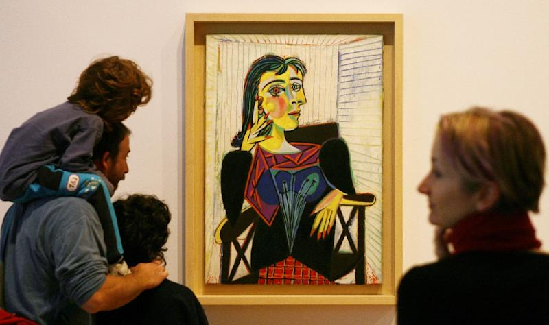 Picasso's portraits of Dora Maar have been high points of many exhibitions over the years. The Maar retrospective aims to bring her out of his shadow (AFP Photo/WILLIAM WEST)