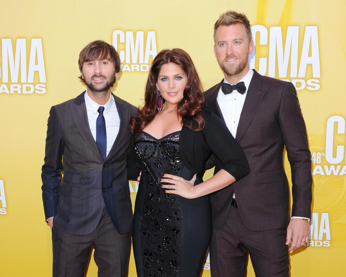 Lady Antebellum 46th Annual CMA Awards Nashville, TN