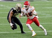 """<p>This should be the <a href=""""https://operations.nfl.com/the-rules/2020-nfl-rulebook/"""" rel=""""nofollow noopener"""" target=""""_blank"""" data-ylk=""""slk:most obvious rule"""" class=""""link rapid-noclick-resp"""">most obvious rule</a>, but, well, sometimes it isn't. </p>"""