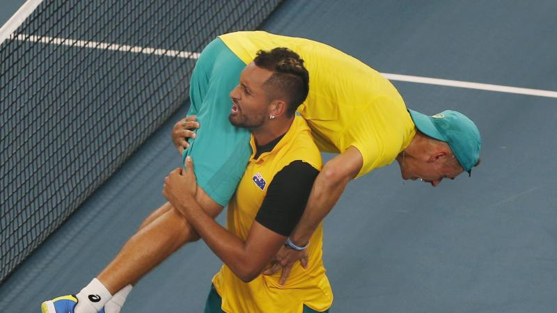 Australia's dramatic ATP Cup victory over Great Britain ranks high – Kyrgios