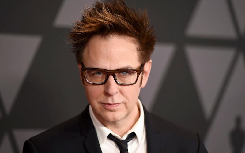 Director James Gunn  - AP