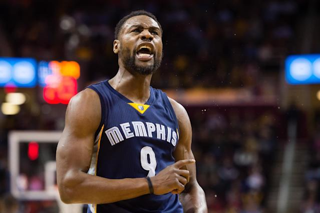 Tony Allen came back with a vengeance Monday. (Jason Miller/Getty Images)