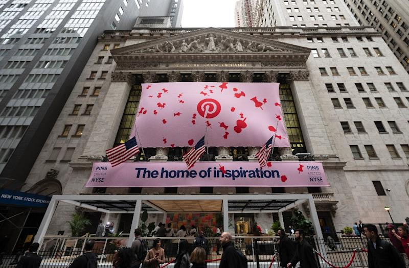 Pinterest got off to a strong start on the New York Stock Exchange on the first day of trade for the visual discovery startup