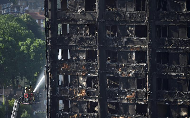 Grenfell Tower cladding contractors will not have oral evidence used against them in any prosecutions
