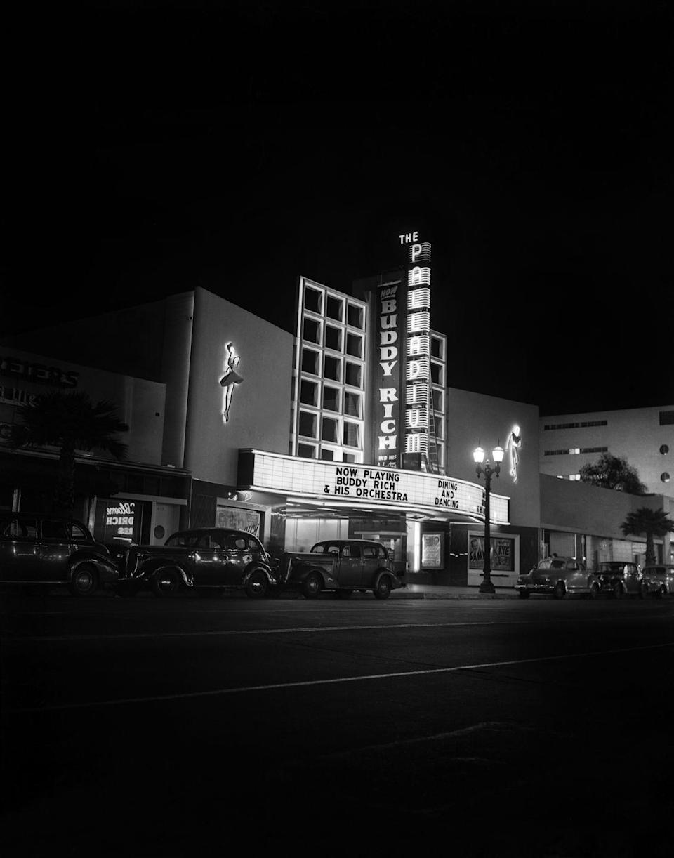 <p>The Palladium is another famous spot on Sunset Boulevard. It's primarily a concert hall, tailoring to rock musicians and pop stars. <br></p>