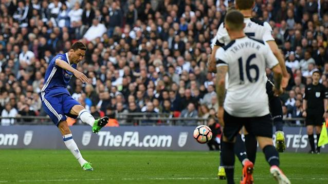 Chelsea remain on course for the double, but, as in the Premier League recently, Tottenham made life uncomfortable for them at Wembley.