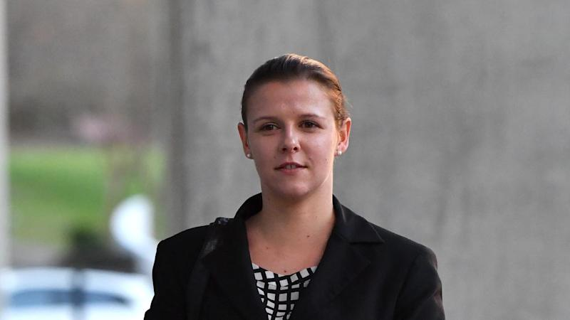Ashleigh Watterson has been found guilty of assaulting her baby but has escaped jail time.