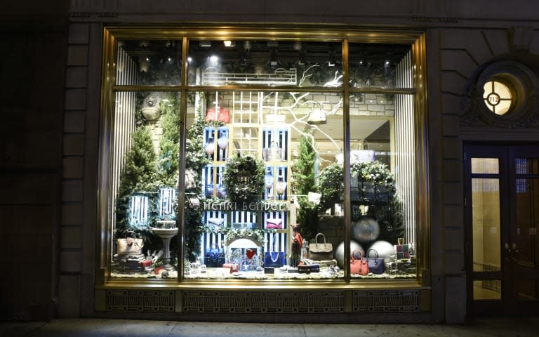 Henri Bendel Celebrates The Holidays With An Enchanted Secret Garden On Fifth Avenue