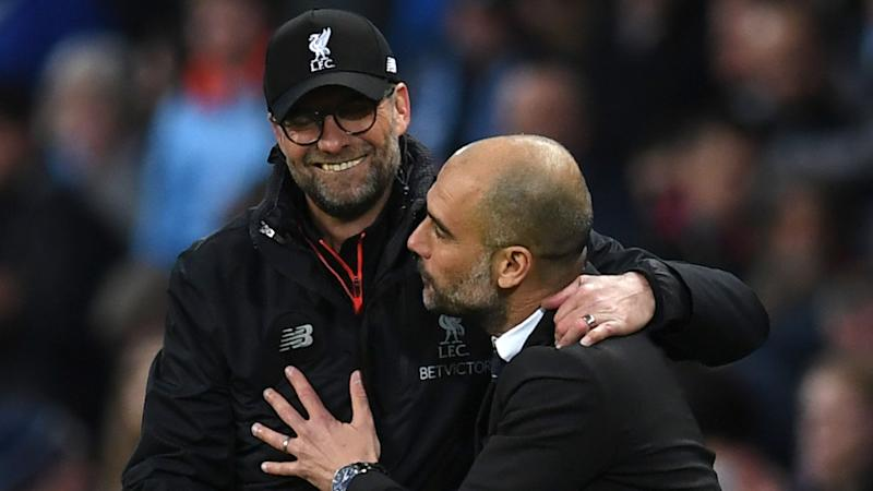 Image result for guardiola klopp