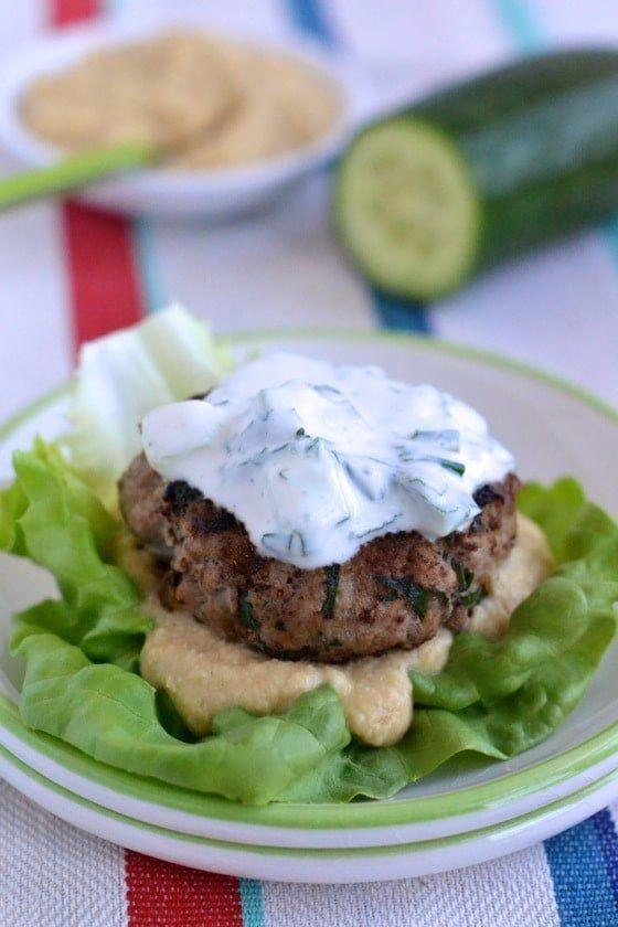 """<strong>Get the <a href=""""https://notenoughcinnamon.com/middle-eastern-lamb-burgers/"""" target=""""_blank"""">Middle Eastern Lamb Burgers</a> recipe from Not Enough Cinnamon</strong>"""