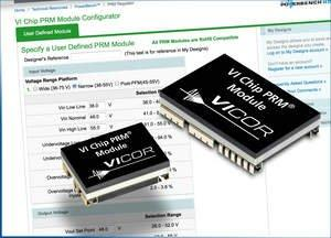 Vicor Corporation Introduces New User-Defined, High-Performance VI Chip PRM Modules