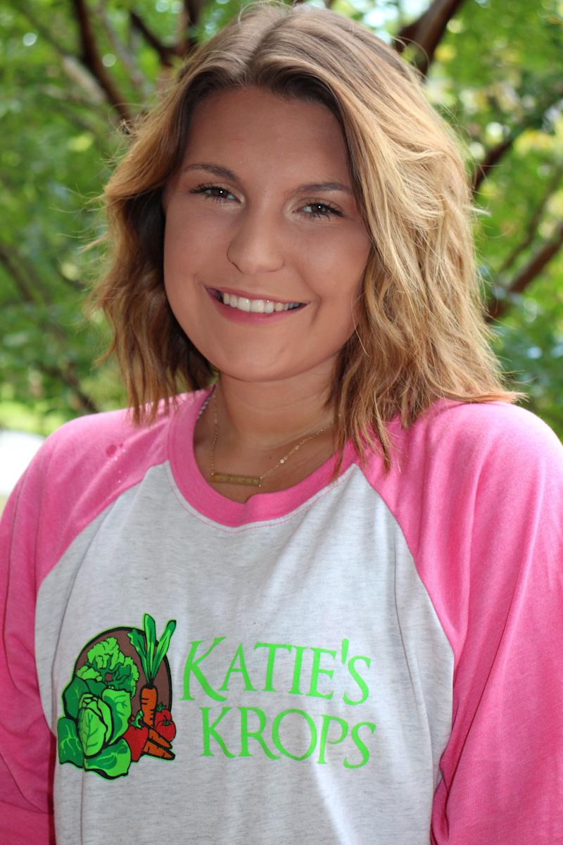 Katie is now 20 and studying at college. (Photo: Supplied)
