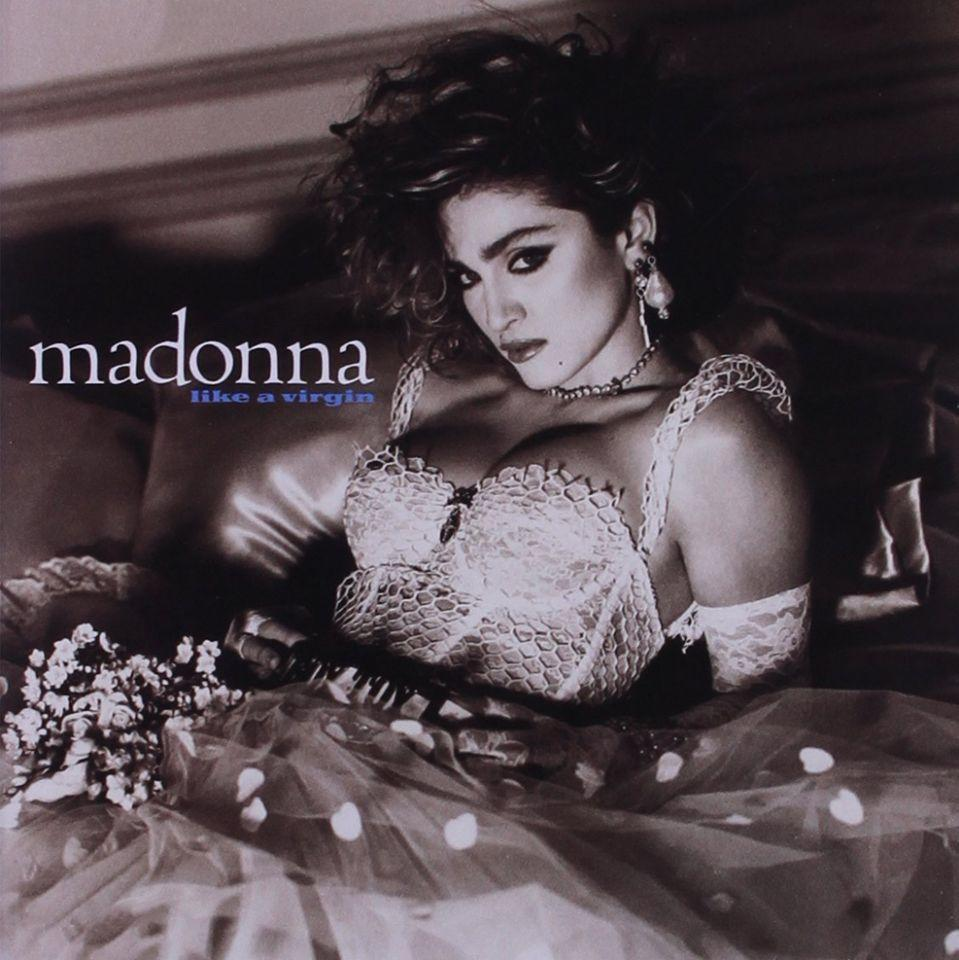 Madonna's 'Like a Virgin' album art, 1984. (Photo: Sire Records)