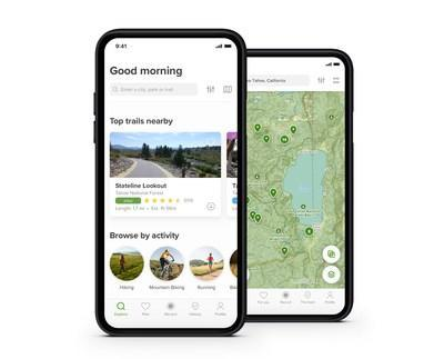 Find and explore trails with AllTrails