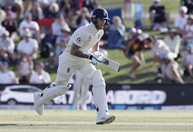 Ben Stokes was 67 not out at stumps (Mark Baker/AP)