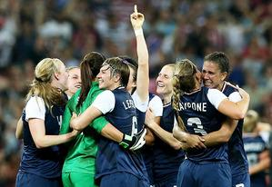 The United States women's soccer team | Photo Credits: Ronald Martinez/Getty Images