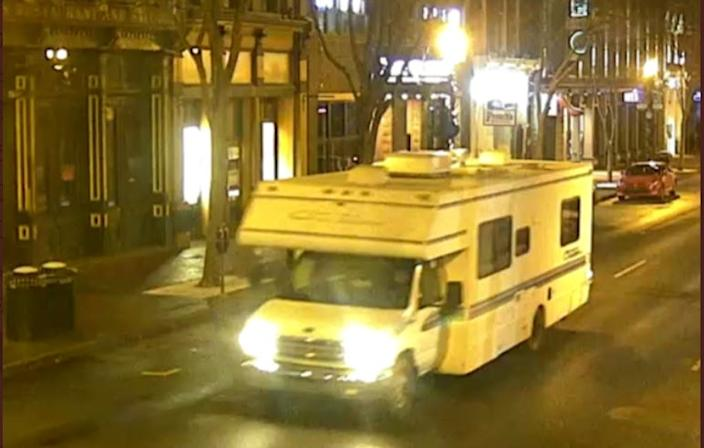 CCTV footage shows RV explosion in downtown Nashville