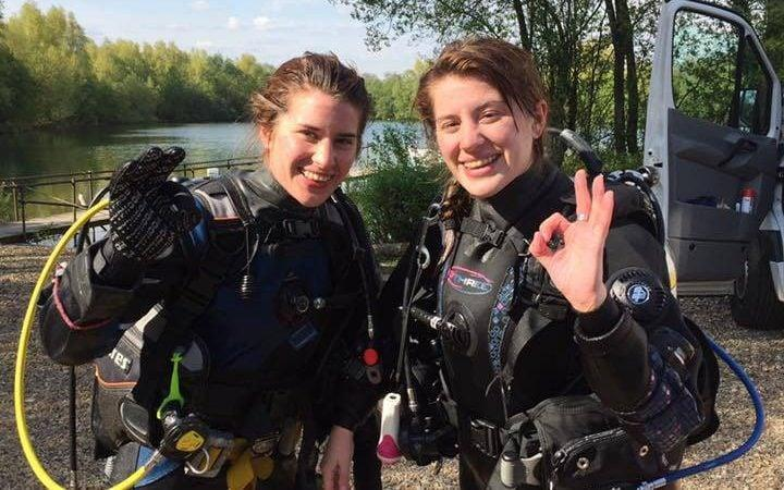 Twin sisters Melissa and Georgia Laurie, 28, were swimming in a lagoon near the resort town of Puerto Escondido in Mexico when the crocodile attacked