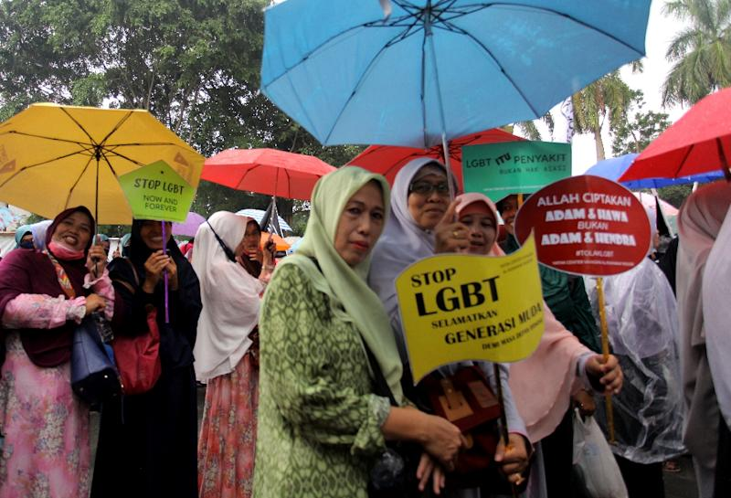 There has been a growing backlash against the LBGT community in Indonesia