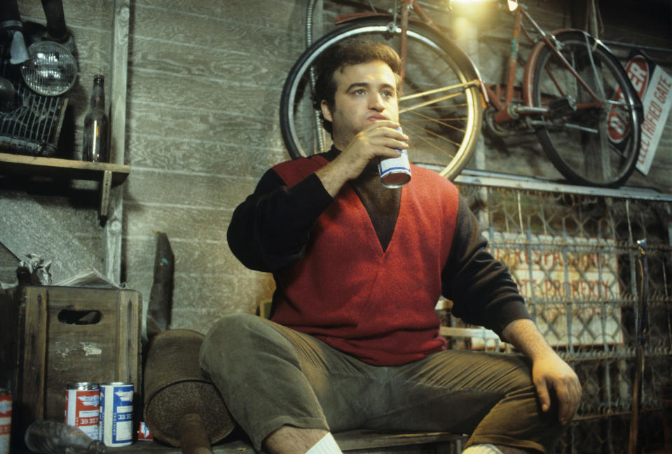 Belushi played Bluto Blutarsky in the comedy classic 'Animal House' in 1978 (Photo: © Universal / courtesy Everett Collection)