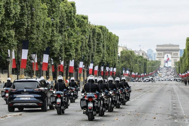 The Champs-Elysees is currently an eight-lane road.
