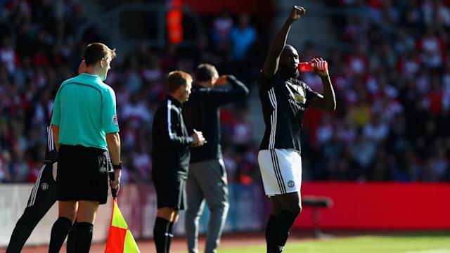 Despite having been warned against it, Manchester United fans were heard singing the controversial Romelu Lukaku chant on Saturday.