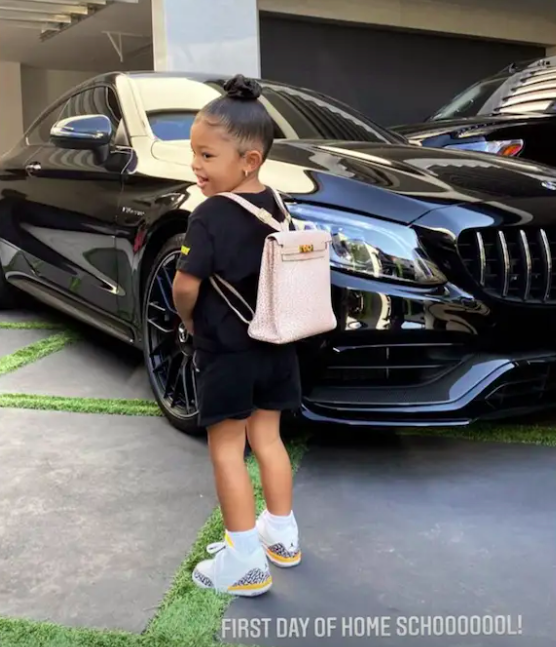 Criticism of Kylie Jenner, because of expensive sneaker collection of her daughter