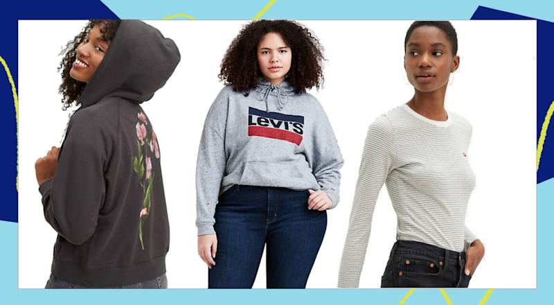 You'll be staying in in style with these finds from Levi's. (HuffPost )