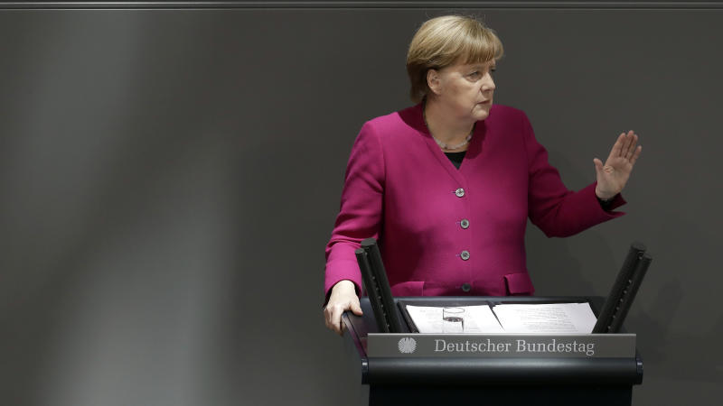 Germany's Merkel hopes to avert 'illegal' US tariffs