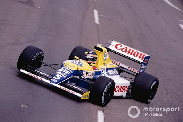 "#5: Thierry Boutsen (Williams) <span class=""copyright"">LAT Images</span>"