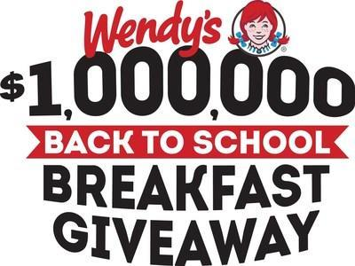 Wendy's Unveils One Million Dollar Back-to-School Breakfast Giveaway for Columbus Community
