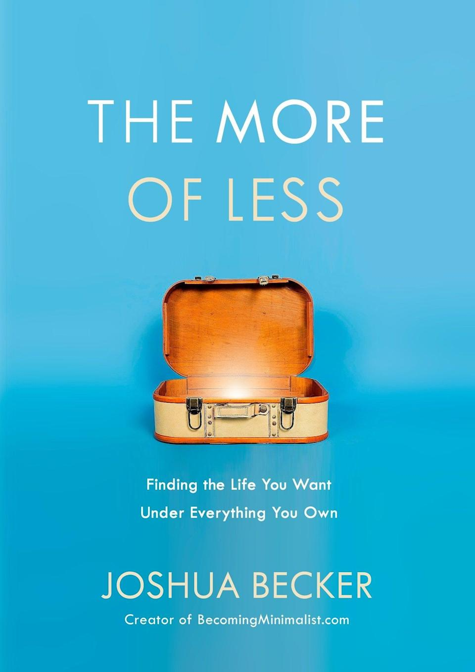 <p>Like many of us, Joshua Becker came to the realization that it was time for a change. Inside Becker's book <b><span>The More of Less: Finding the Life You Want Under Everything You Own</span></b>, he provides a redirection towards rethinking the concept of organization and what it means to invite the idea of simplicity with owning less and gaining more. </p>