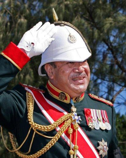 Tonga's King George Tupou V (pictured in 2008) was sworn in in one of the world's last absolute monarchies in September 2006, with the need for reform taking on added urgency when riots two months later left eight people dead and much of downtown Nuku'alofa destroyed