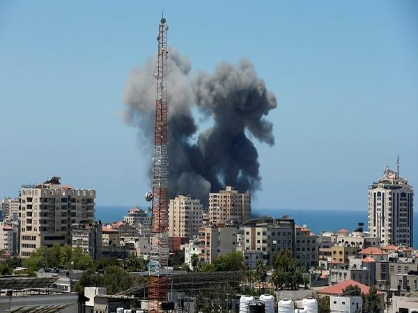 Scenes from Israeli airstrikes on Gaza (Credit: Reuters Pictures)