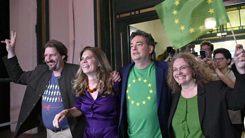 'Green wave' sweeps EU vote amid mounting climate protests