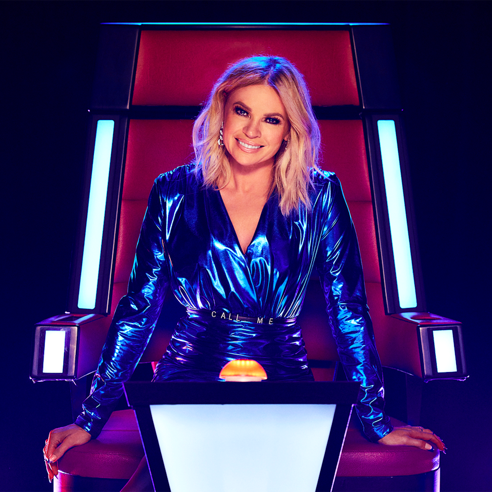 Sonia Kruger on The Voice.