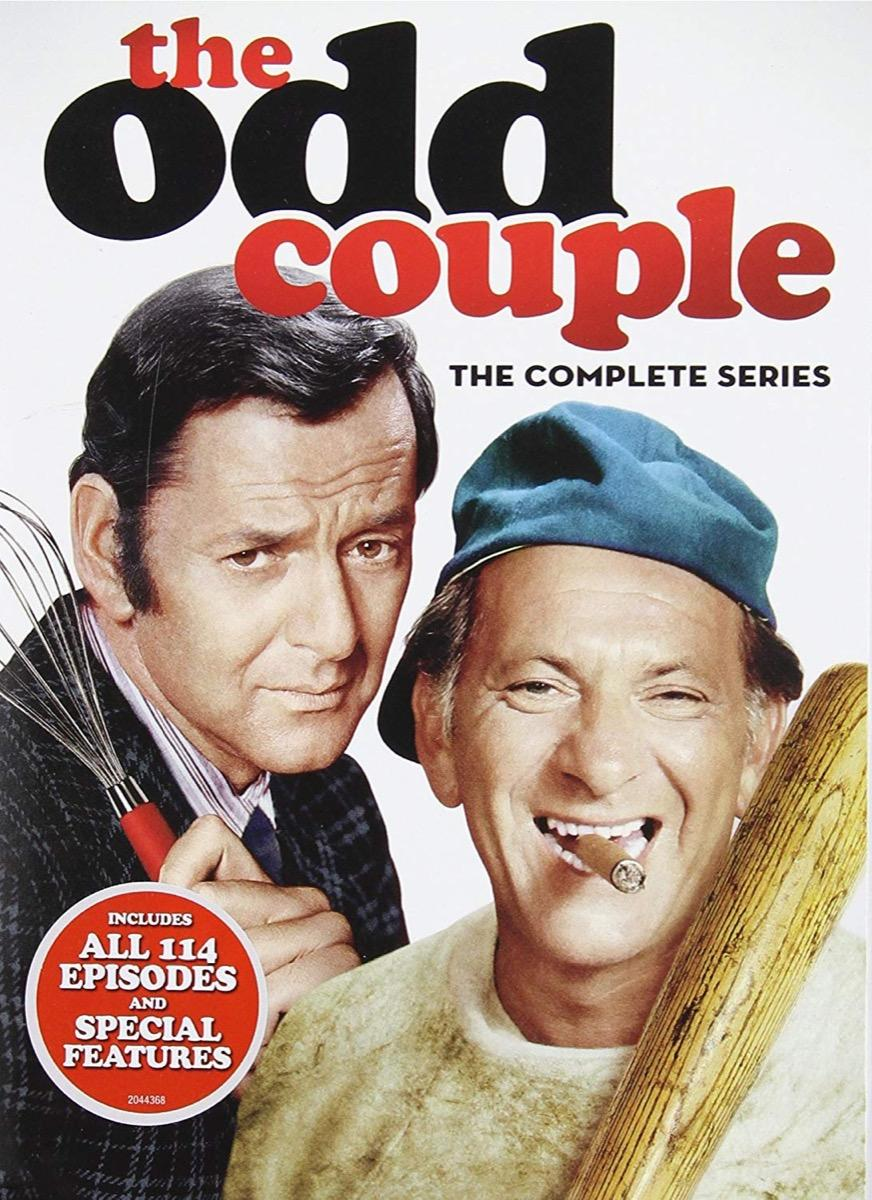 The Odd Couple DVD Biggest Male Icons