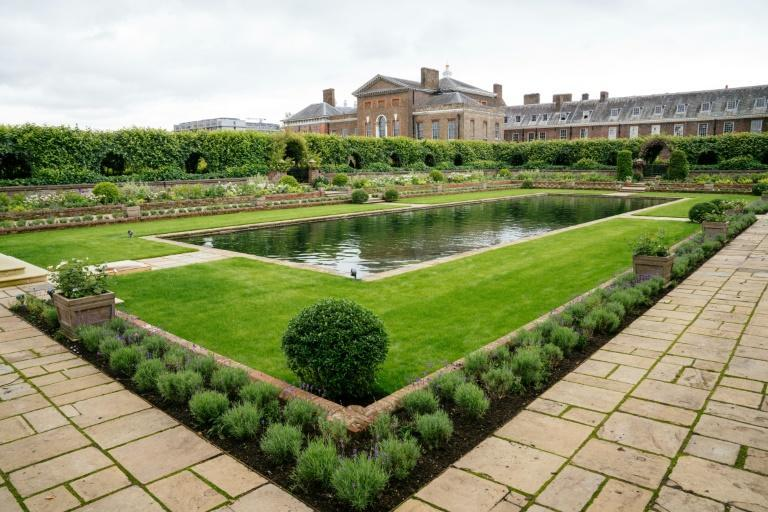 The Sunken Garden at Kensington Palace will be the permanent home of a statue of Diana, Princess of Wales