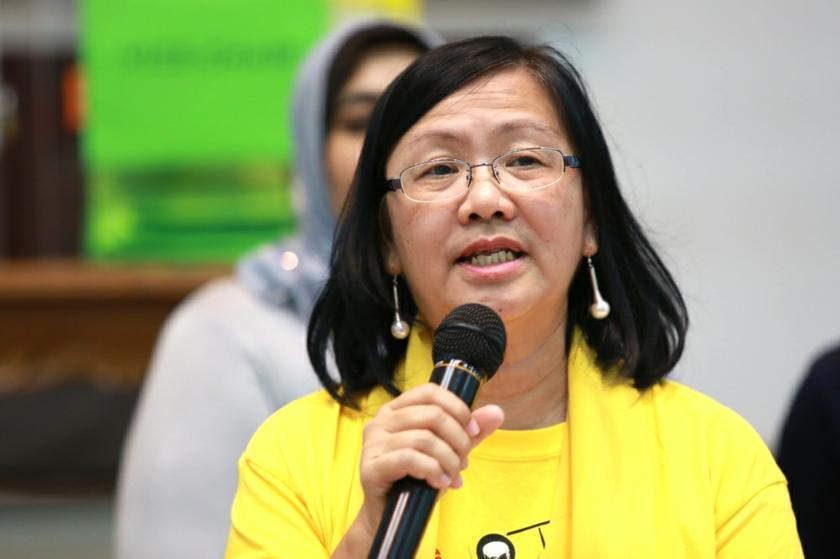 Bersih 2.0 co-chairman Maria Chin says that the discovery of suspect new voters strengthened the group's suspicion of a 'political attempt' to influence the 14th general election results. — Picture by Saw Siow Feng