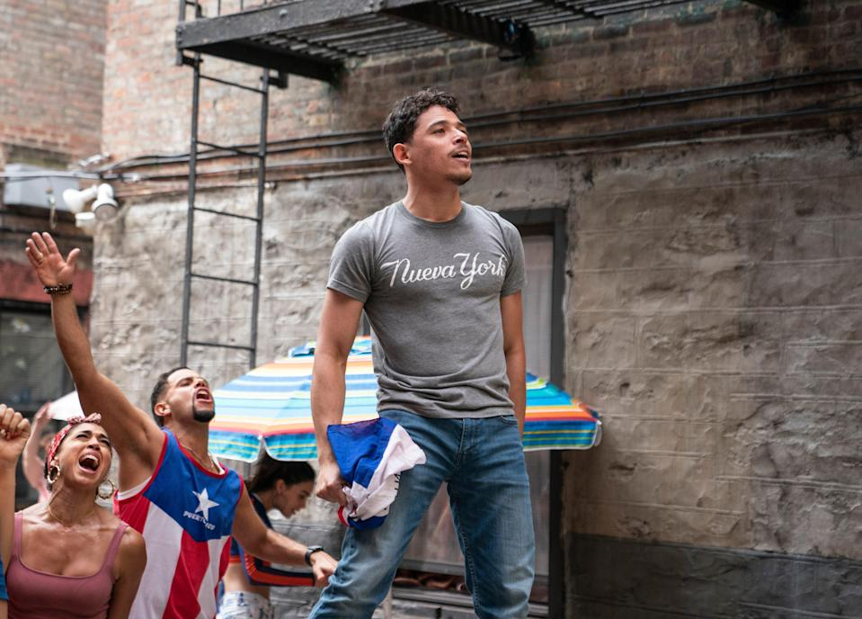 """Anthony Ramos raises his voice in """"In the Heights."""""""