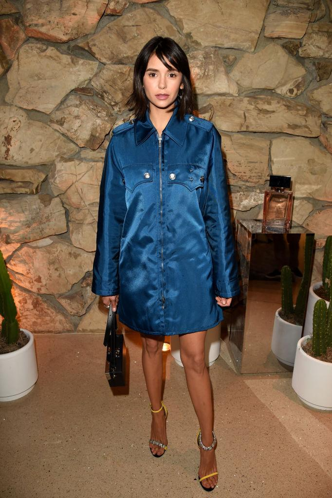 <p>Nina Dobrev attends the launch of Proenza Schouler's first fragrance, Arizona, on March 2, 2018, in Beverly Hills. (Photo: Jason Merritt/Getty Images for Vanity Fair) </p>