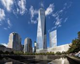 <p>These hallowed grounds honor the innocent lives lost during the 9/11 bombings—and the brave men and women who came to their rescue (many of which also lost their lives in the process). This beautiful memorial, museum, and next-generation of the World Trade Center reminds us of the resiliency of this country and its people. </p>
