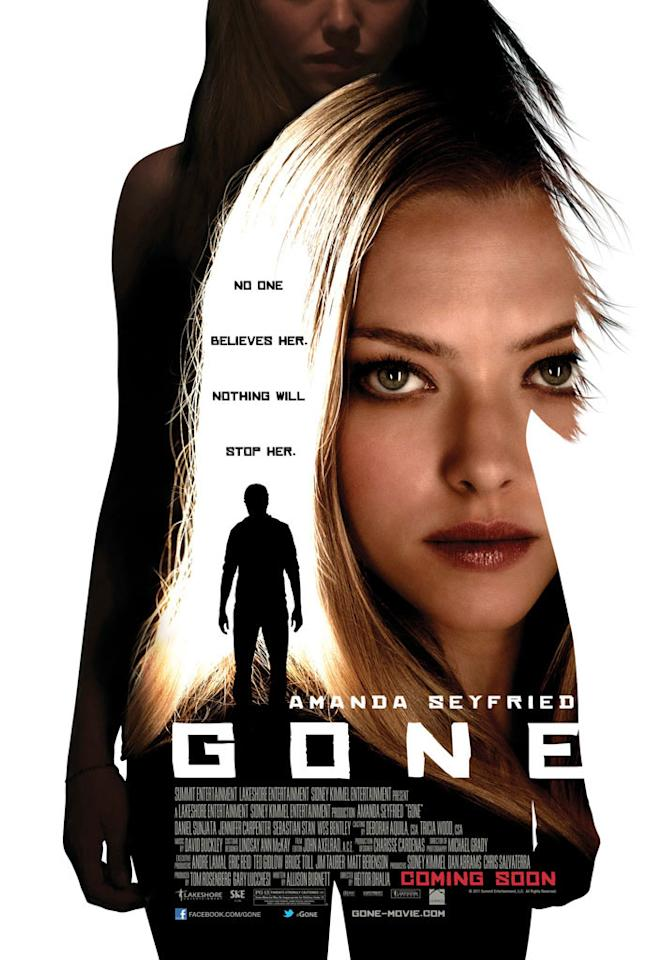 "Summit Entertainment's <a href=""http://movies.yahoo.com/movie/1810237175/info"">Gone</a> - 2012"