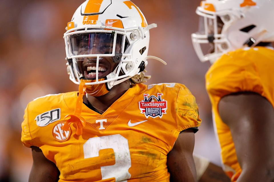 Running back Eric Gray is one of three transfers from Tennessee to join the Sooners in the offseason.