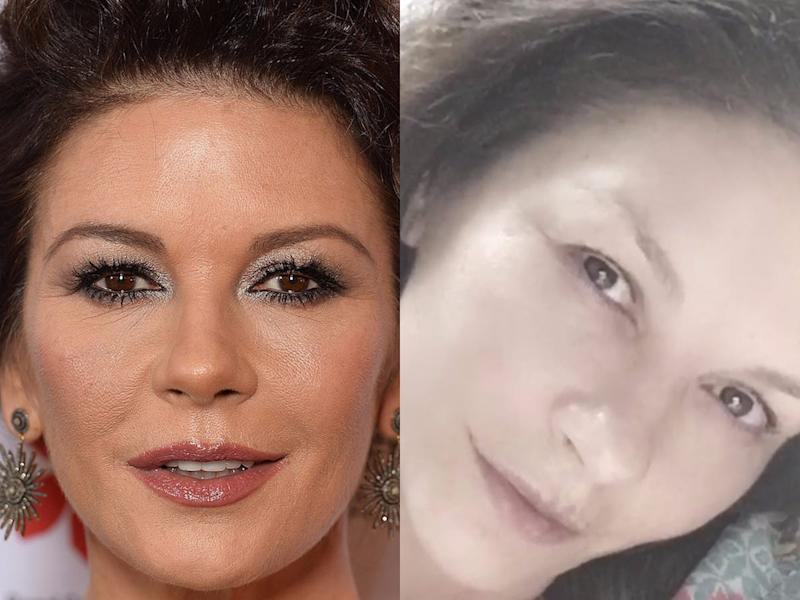 catherine zeta jones no makeup