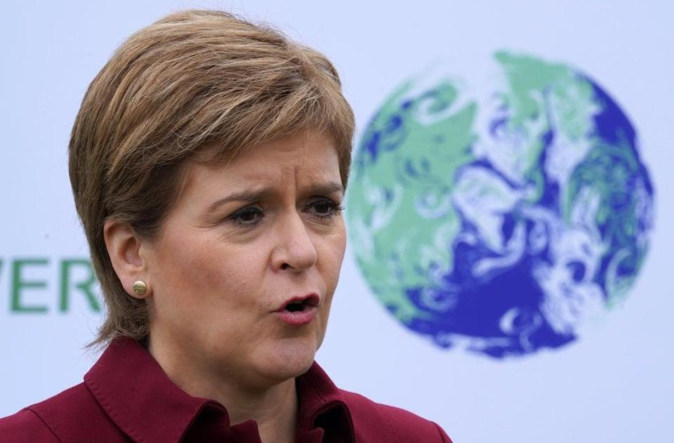 Nicola Sturgeon has written to the Prime Minister (Andrew Milligan/PA) (PA Wire)