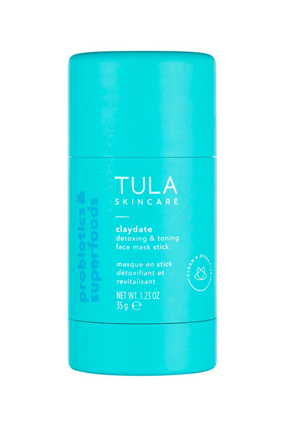 "<p><strong>Tula</strong></p><p>ulta.com</p><p><strong>$34.00</strong></p><p><a href=""https://go.redirectingat.com?id=74968X1596630&url=https%3A%2F%2Fwww.ulta.com%2Fclaydate-detoxing-toning-face-mask-stick%3FproductId%3Dpimprod2022915&sref=https%3A%2F%2Fwww.cosmopolitan.com%2Fstyle-beauty%2Fbeauty%2Fg36176731%2Fbest-clay-face-masks%2F"" rel=""nofollow noopener"" target=""_blank"" data-ylk=""slk:Shop Now"" class=""link rapid-noclick-resp"">Shop Now</a></p><p>As effective as clay face masks are, they're also <em>pretty</em> effing messy. That's where this convenient stick formula comes in handy. <strong>All you do is glide it over clean skin</strong> and it'll leave behind the perfect amount of Mediterranean clay, toning <a href=""https://www.cosmopolitan.com/style-beauty/beauty/a30786071/apple-cider-vinegar-for-hair/"" rel=""nofollow noopener"" target=""_blank"" data-ylk=""slk:apple cider vinegar"" class=""link rapid-noclick-resp"">apple cider vinegar</a>, and oil-minimizing willow bark —no mess included.</p>"