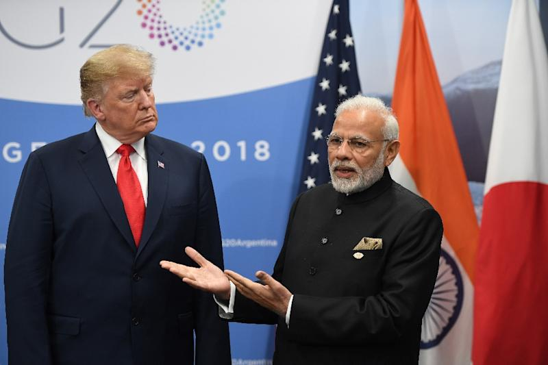 The trade tensions come despite Washington's effort to boost ties with India as a counterweight to China and President Donald Trump's stated good relations with Prime Minister Narendra Modi