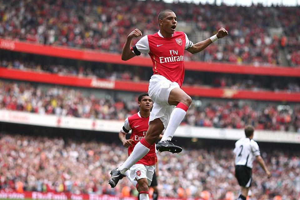 Giberto won the Premier League and two FA Cups with ArsenalAFP via Getty Images